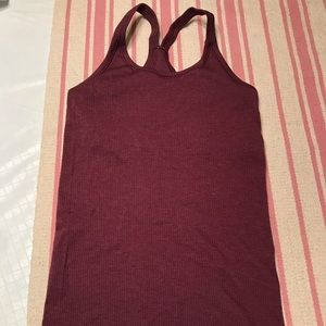 Lululemon Ribbed Power Y Tank Top